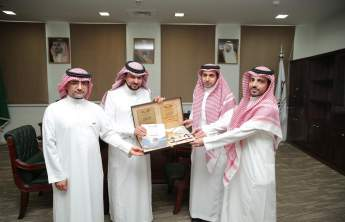 Rector Receives the Annual Report of the College of Applied Medical Sciences at Wadi Al-Dawasir