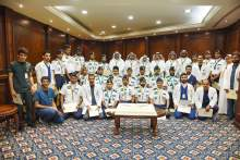 Rector Honors Haj 1440H Participants