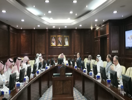 The Scientific Council of PSAU Holds its 4th Session in the Academic Year 1442AH